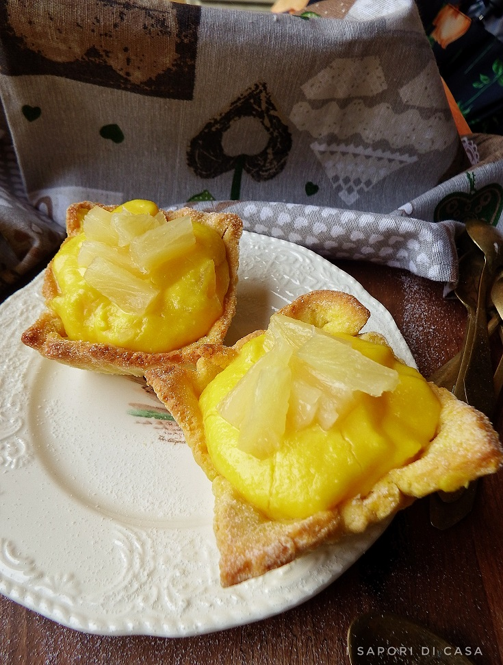 Crostatine Piña Colada