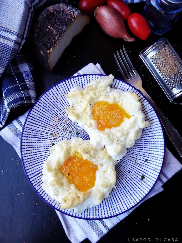 Uova nuvola - cloud eggs