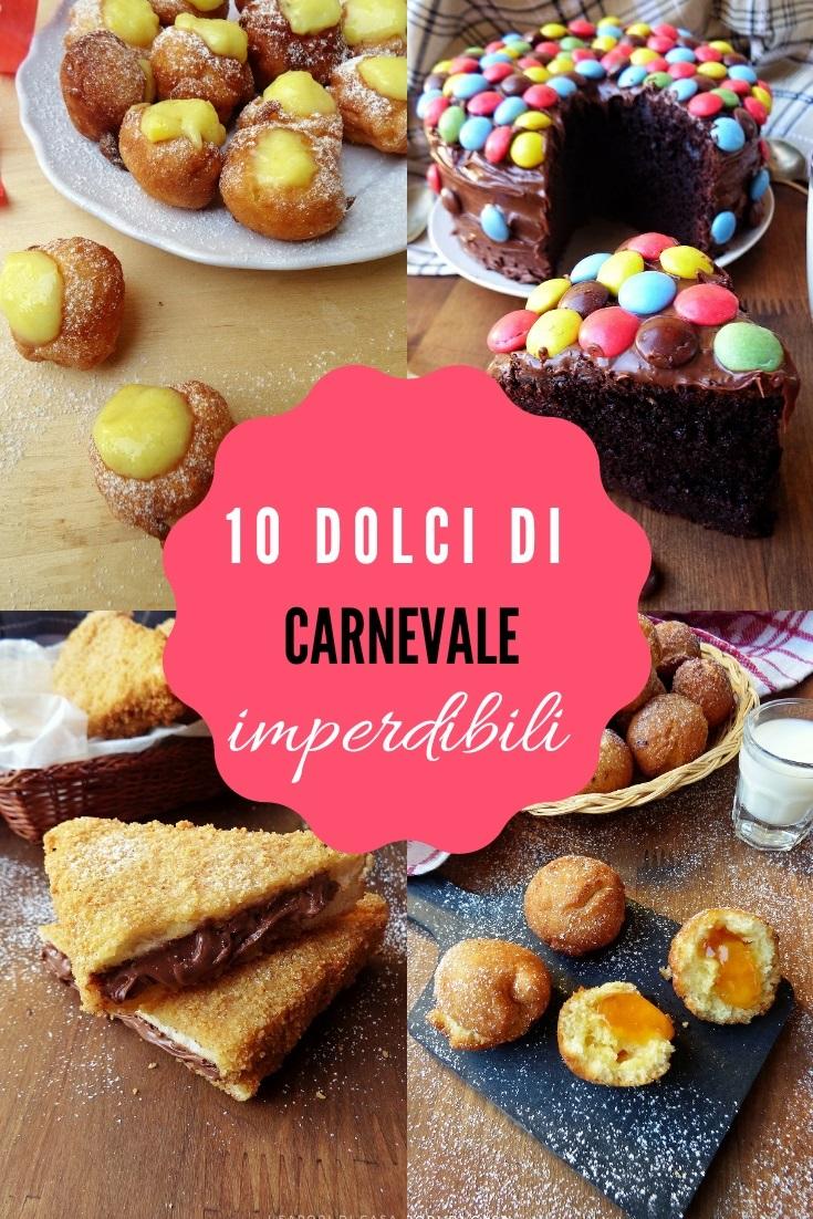 10 dolci di carnevale imperdibili