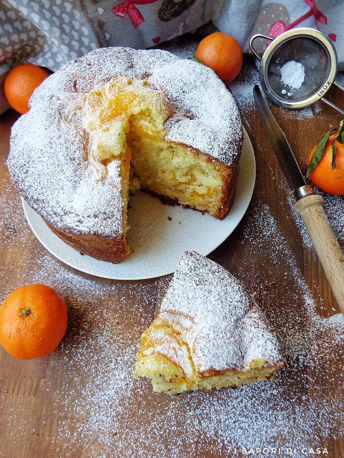 Torta ai mandarini e cioccolato bianco