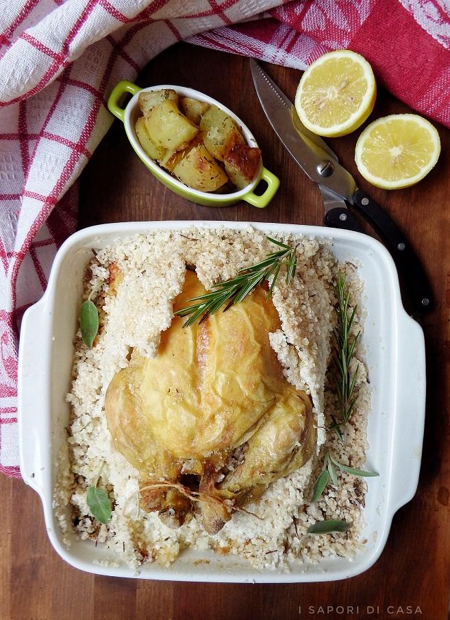 Pollo al sale