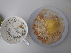Fiori di cipolla croccanti al forno