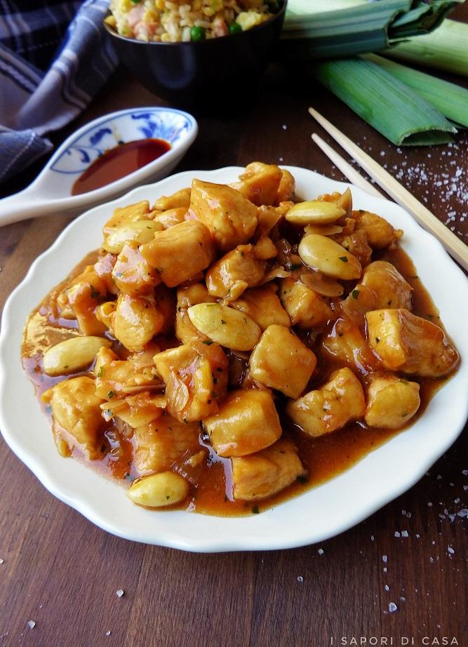 POLLO ALLE MANDORLE - ricetta cinese – I Sapori di Casa 612bc976625c