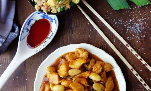 POLLO ALLE MANDORLE – ricetta cinese