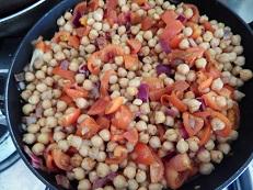 Cholay – stufato di ceci – ricetta indiana