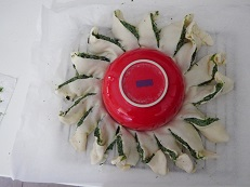 Sole di sfoglia con spinaci e ricotta
