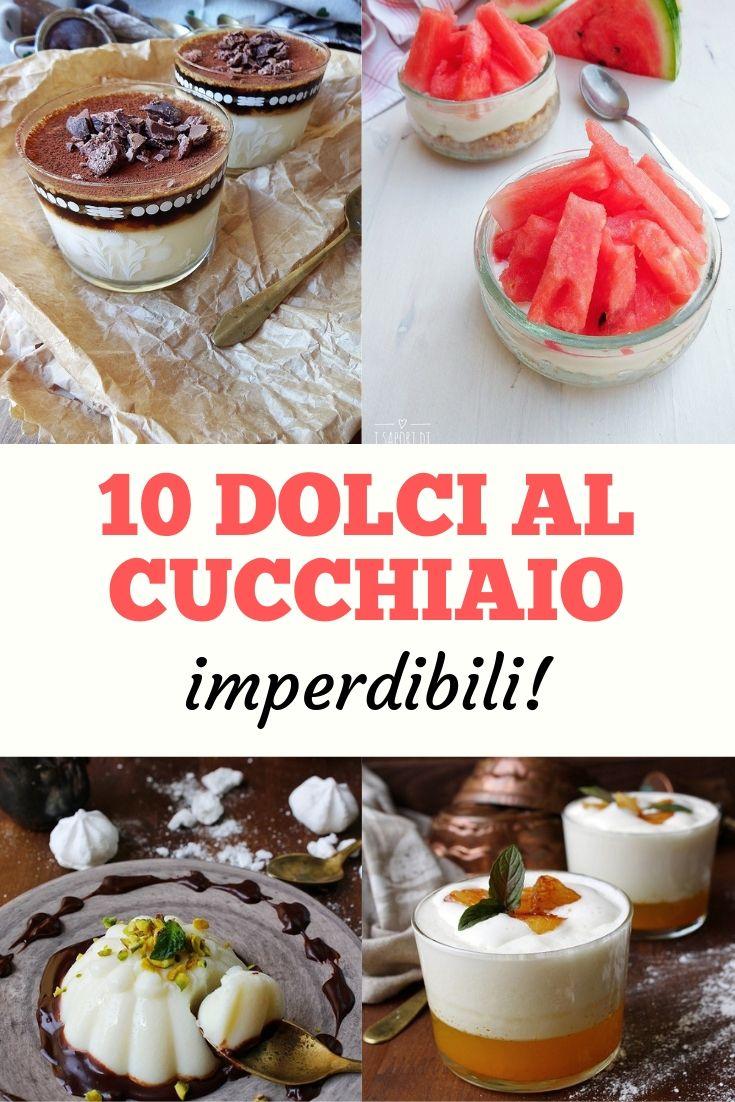 10 dolci al cucchiaio imperdibili