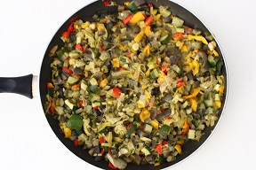 Lasagne bianche con verdure