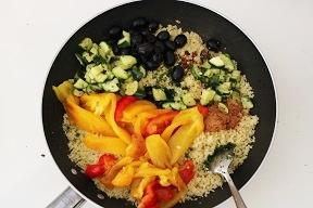 Cous cou con verdure e pollo