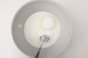 Torta fredda allo yogurt e albiocche