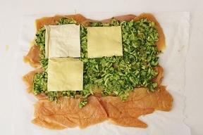 Rotolo di pollo con zucchine e pancetta