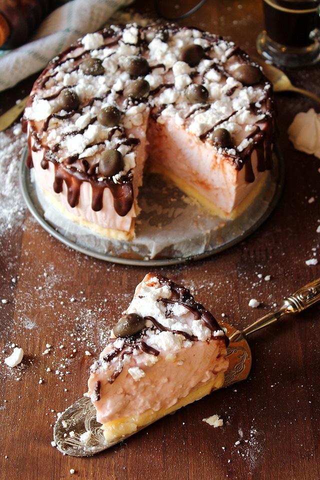 Cheesecake meringata