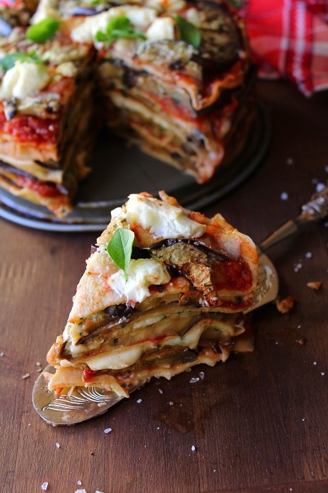 Torta di crepes alla parmigiana