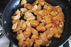 Bocconcini di pollo al pepe rosa