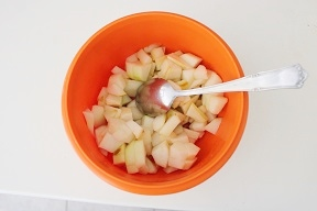 Torta pere e ricotta senza burro e olio