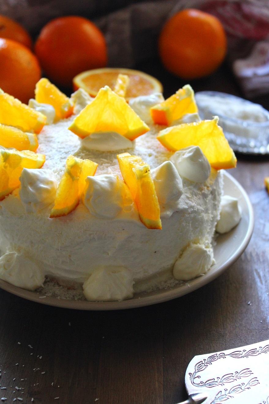 Torta delizia all'arancia