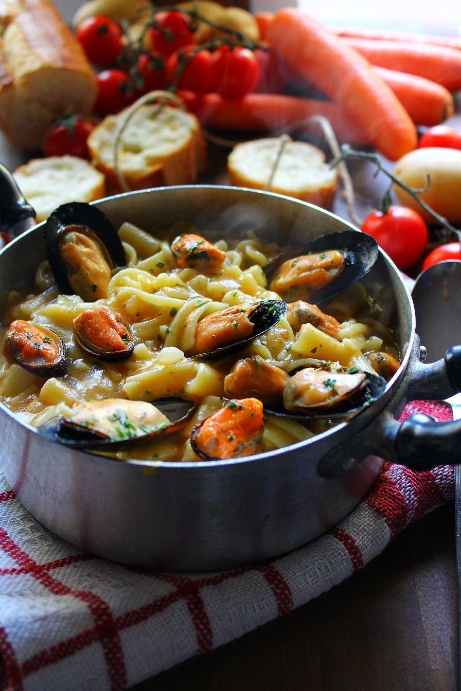 Pasta patate e cozze