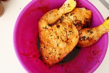 Pollo al sesamo