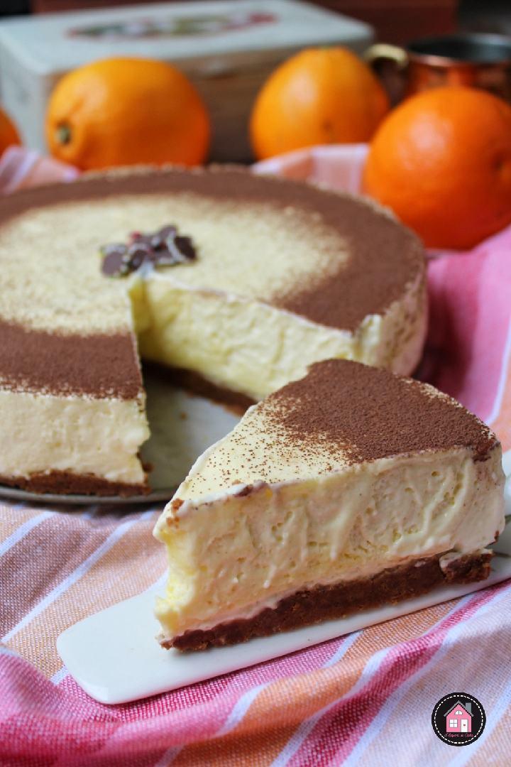 Torta fredda allo zabaione