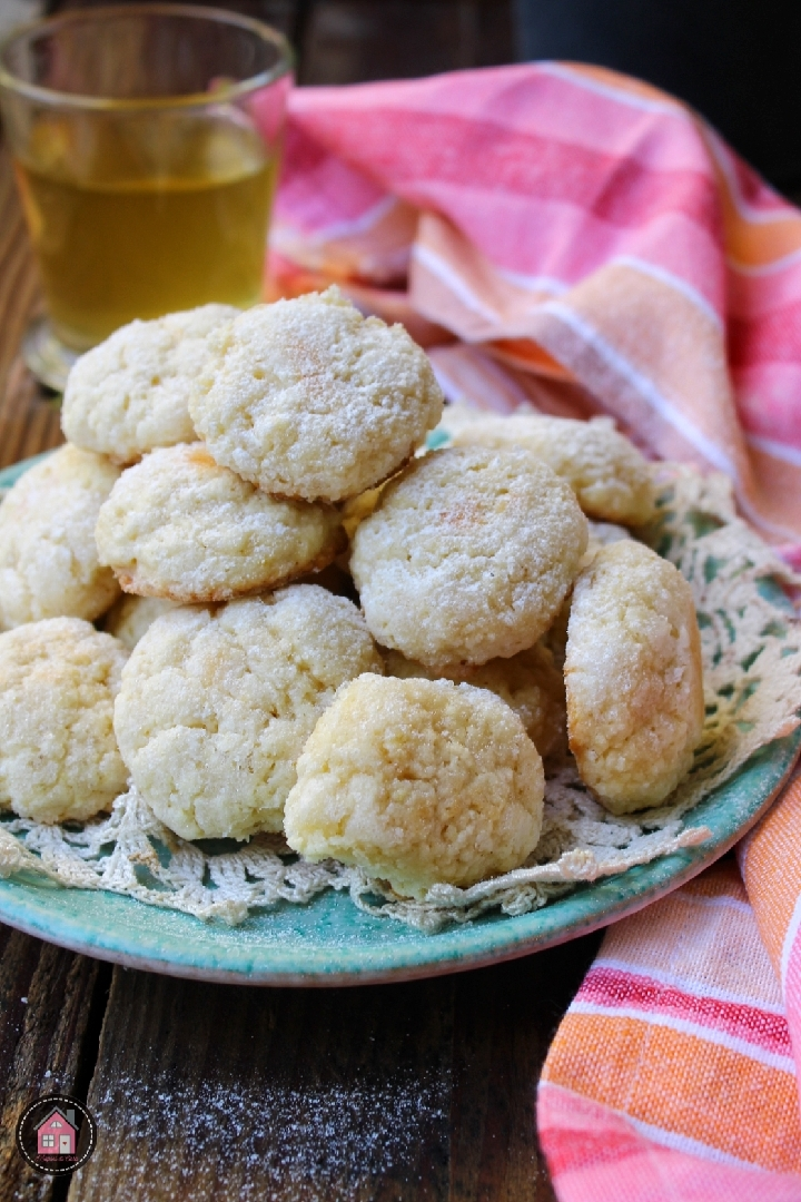 Biscotti al limone morbidissimi