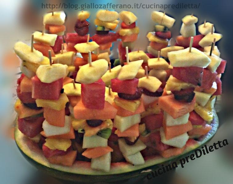 Trionfo di frutta,ricetta,cucina preDiletta