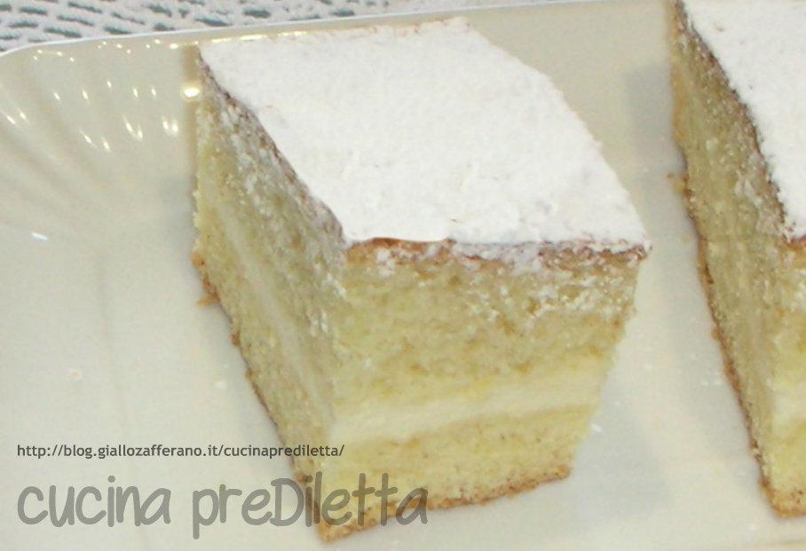 torta paradiso farcita,cucina preDiletta