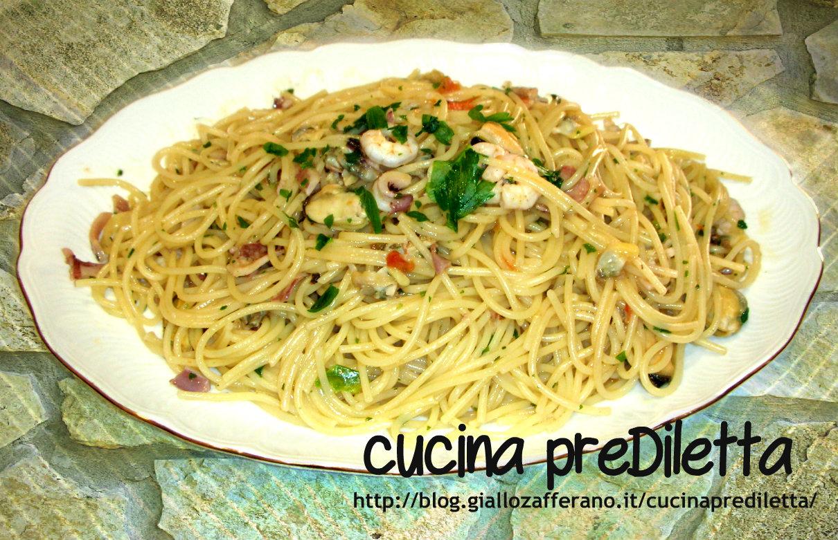 Spaghetti al sapore di mare ricetta veloce cucina for Cucinare qualcosa di veloce