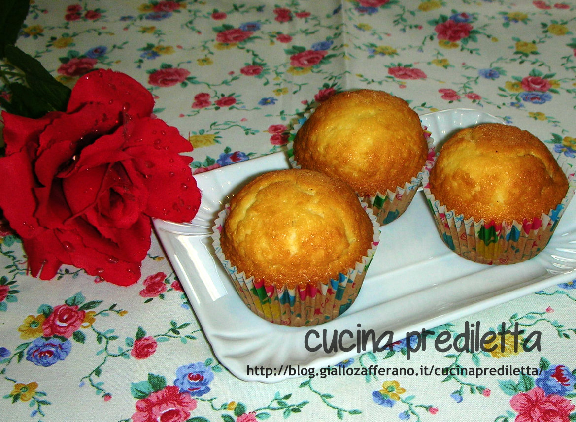 muffin con aroma di arancia,ricetta,cucina preDiletta