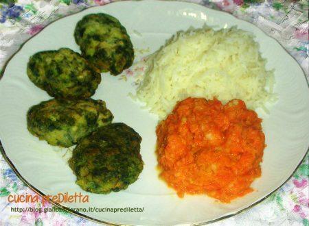 Polpette di merluzzo con riso Basmati, ricetta piatto unico