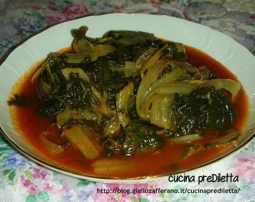 bietole al pomodoro,ricetta vegetariana - cucina prediletta - Cucinare Bieta