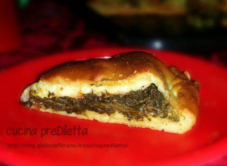 Schiacciata con spinaci e prosciutto – ricetta catanese