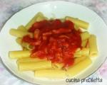 Pasta con pancetta e pomodoro, ricetta primo piatto veloce