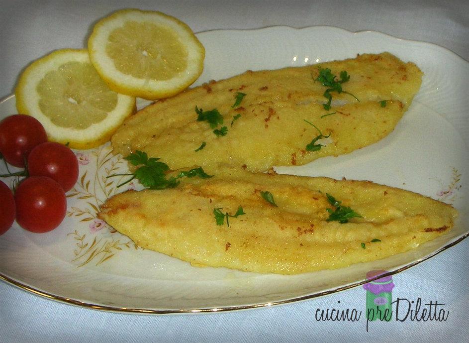 filetti di pesce alla mugnaia - ricetta classica | cucina prediletta - Come Si Cucina Il Pesce