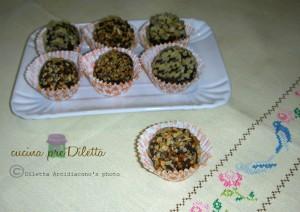 Palline ricotta e cacao, ricetta, cucina preDiletta
