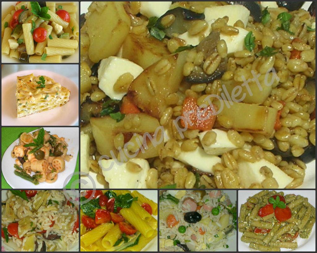 spesso Primi piatti freddi, ricette buffet estivo - cucina preDiletta FK31
