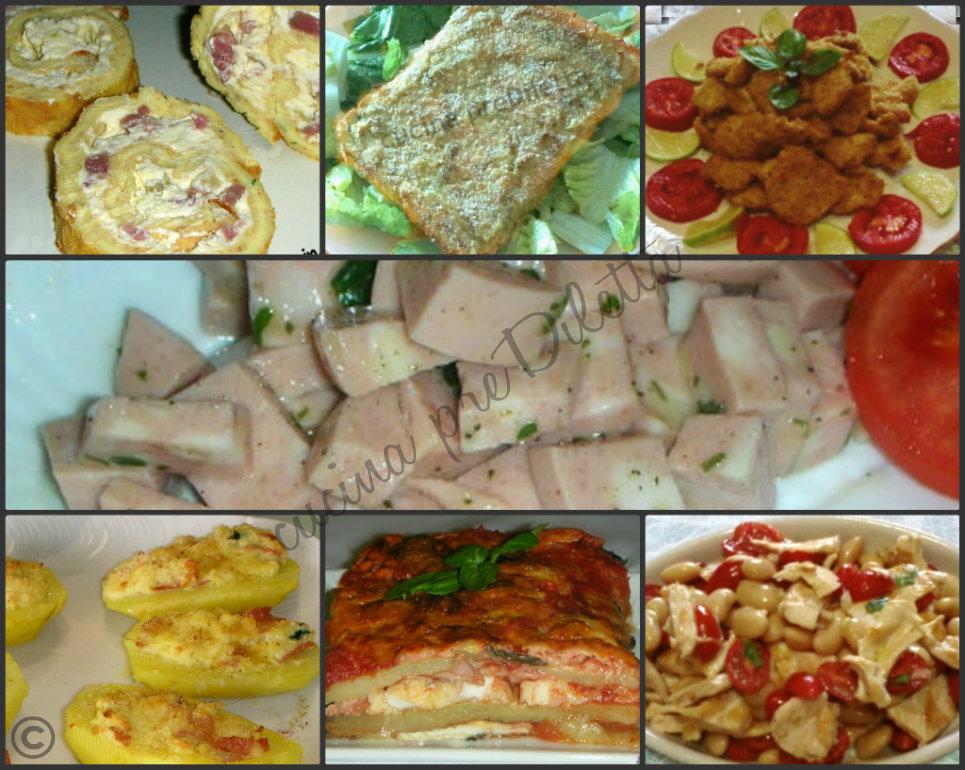 Secondi piatti freddi ricette buffet estivo cucina prediletta - Secondi piatti da cucinare in anticipo ...