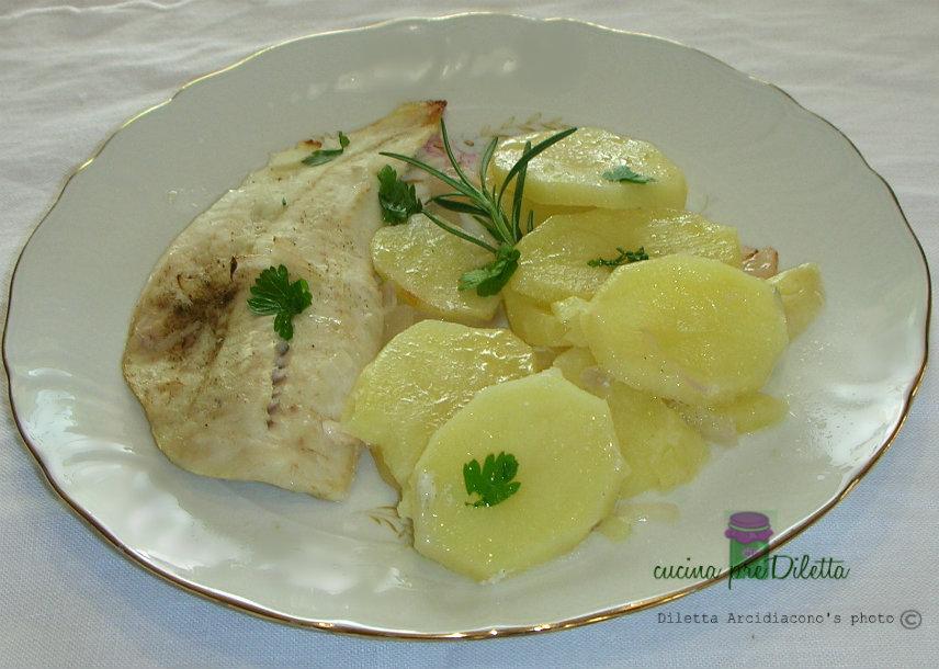 filetti di merluzzo con patate - ricetta | cucina prediletta - Cucinare Filetto Di Merluzzo