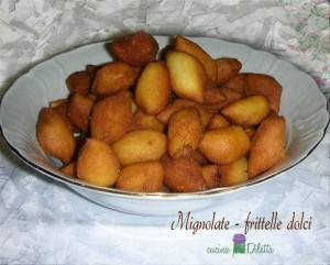 Mignolate - frittelle dolci, ricetta