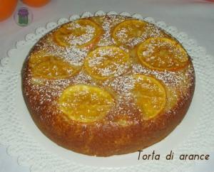 Torta di arance, ricetta, cucina preDiletta