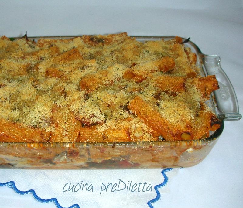 pasta con finocchietto al forno - ricetta   cucina prediletta - Cucinare Finocchietti