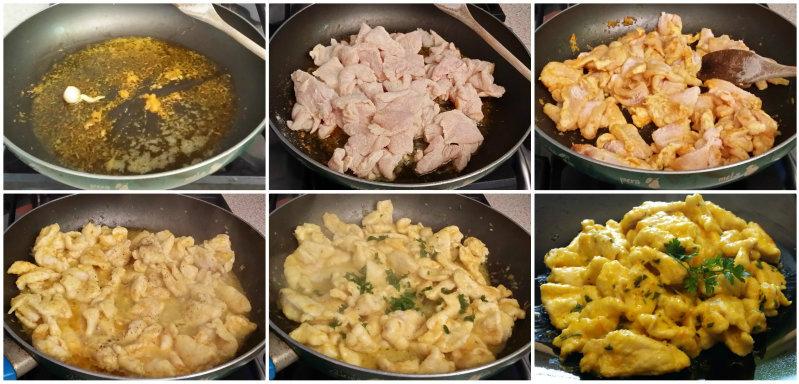 Pollo agli agrumi, ricetta