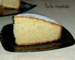 Torta morbida alla vaniglia