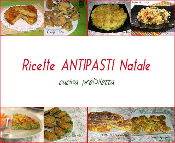 Ricette antipasti natale pranzo di natale e capodanno for Ricette di cucina antipasti