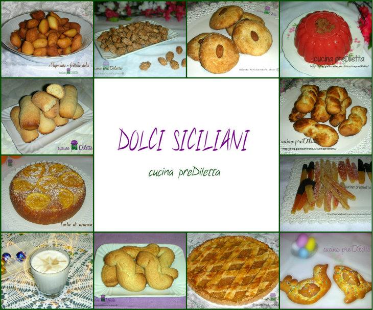 Dolci siciliani ricette cucina prediletta for Ricette dolci siciliani