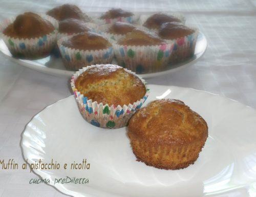 Muffin al pistacchio e ricotta