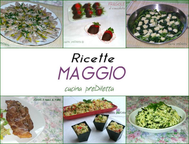 RICETTE MAGGIO 2015, le più cliccate