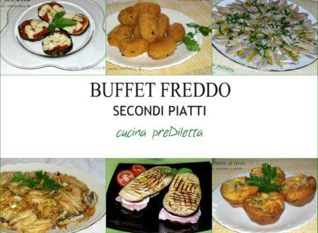 Ricette secondi piatti freddi, buffet estivo