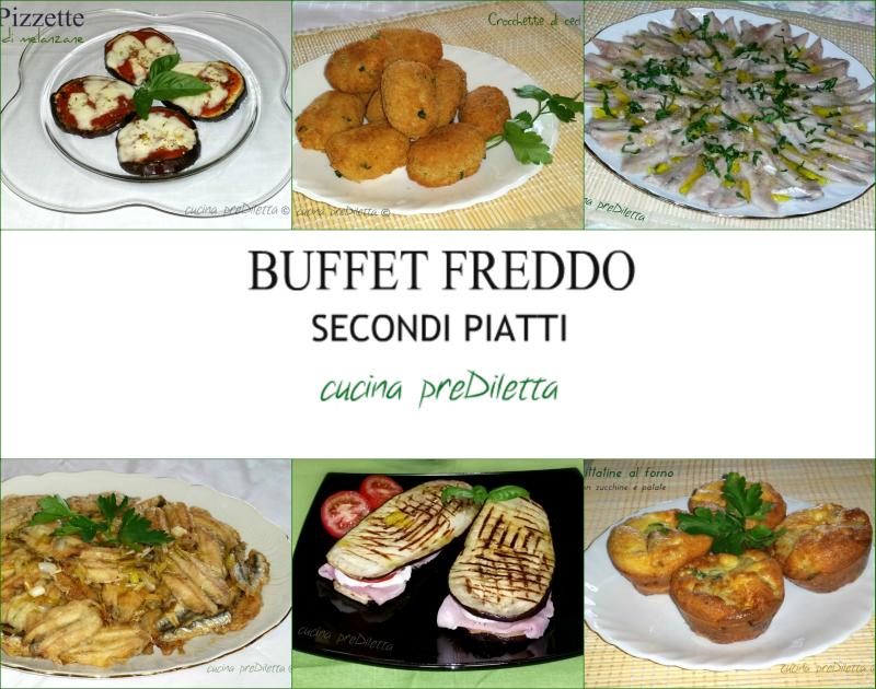 Ricette secondi piatti freddi buffet estivo cucina - Secondi piatti da cucinare in anticipo ...