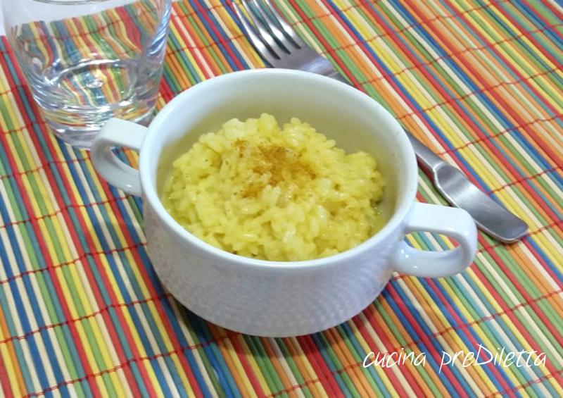 Risotto allo zafferano ricetta cucina prediletta - Cucina giallo zafferano ...