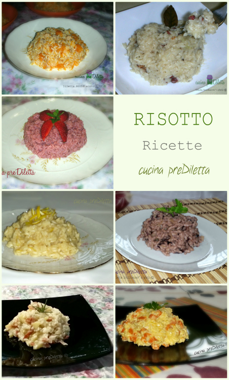 Risotto ricette le ricette di cucina prediletta for Ricette di cucina